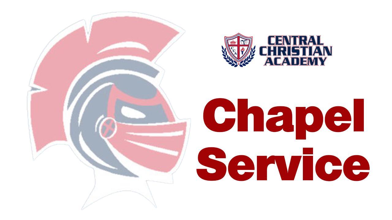 Wednesday April 29, 2020 – Chapel
