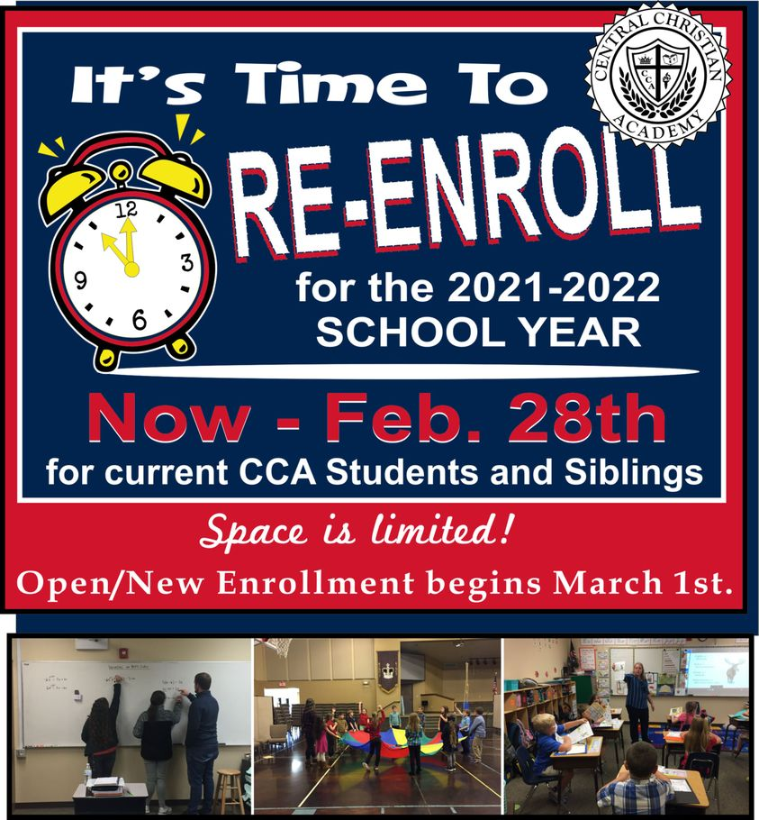 Student Enrollment Time!